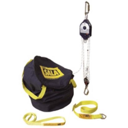 Dispositivo para Trabalho Posicionado e Salvamento Rollgliss RPD Corda de 30m - Relação de 4:1 (Locação)